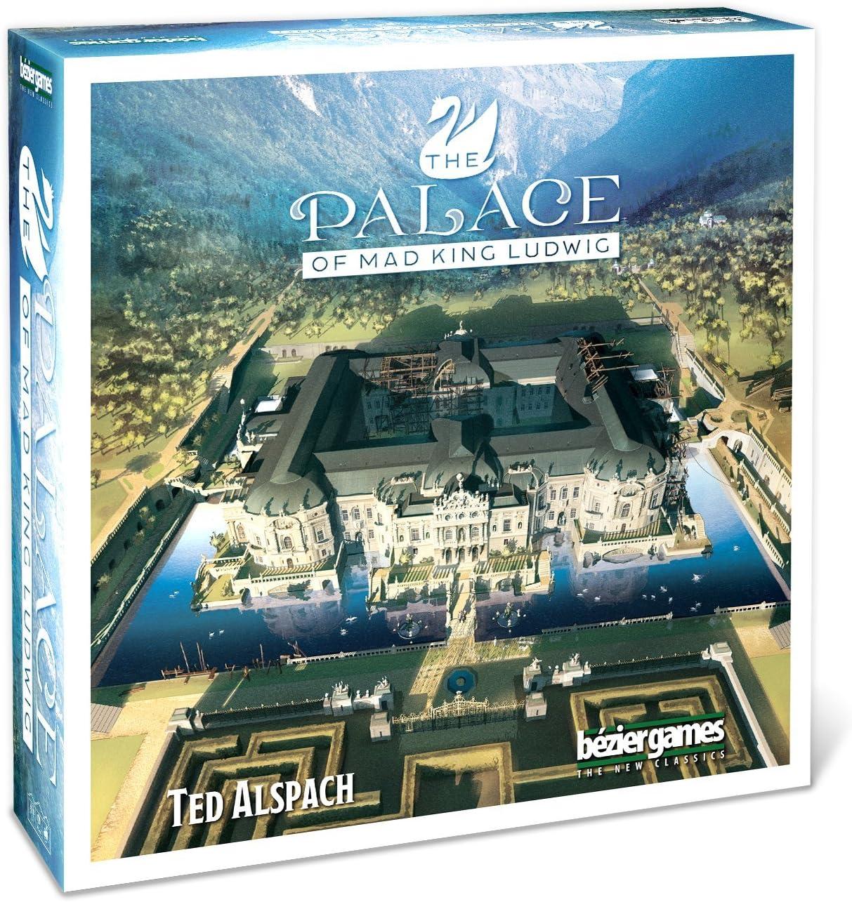 Bezier Games BEZ00025 Palace of Mad King Ludwig - Juego de Mesa [Importado de Alemania]: Amazon.es: Juguetes y juegos