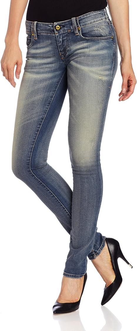 New Women/'s Purple Polka Dot Summer Skinny Geso Jeans #6 Size 1-15