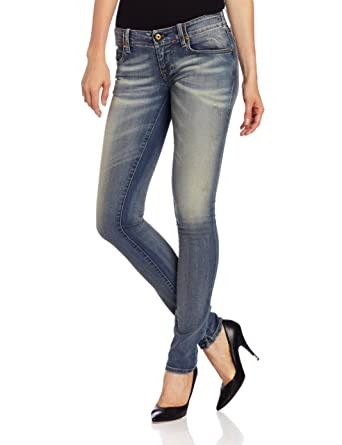 512f097e Amazon.com: Diesel Women's Grupee Super Skinny Leg Jean 0815V in Denim:  Clothing