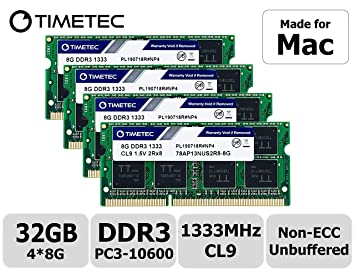 "RAM Memory 4 Apple iMac /""Core i5/"" 3.6 27-Inch 2X8GB 16GB Mid-2010 A13"