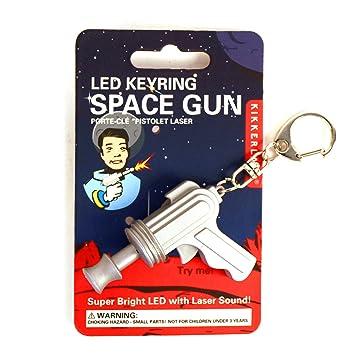 space gun keyring led light and sound amazoncom stills office space