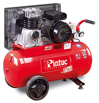 PINTUC BNDC504FNM932A Compresor de Transmisión Por Correa 2.2 W, 230 V: Amazon.es: Bricolaje y herramientas