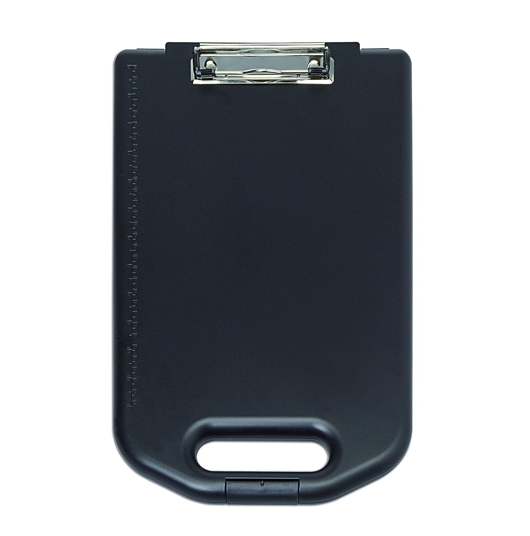 MAUL Portablocco Box, in plastica ABS, Nero, Grande Scomparto A4, Extra formular titolare interno 2349590