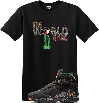 We Will Fit World Shirt Jordan Retro 8