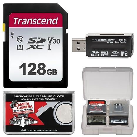 Amazon com : Transcend 128GB SecureDigital SDXC UHS-I Class