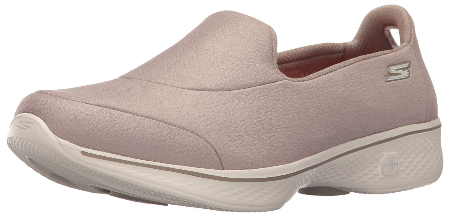 Skechers Inspire, Go Walk 4 Inspire, Baskets Baskets Basses Femme, Walk Parent Beige (Tpe) 44ee823 - boatplans.space
