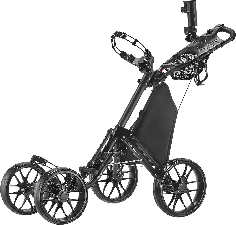 Caddytek en Un Seul Clic Pliable Version 3à 4Roues Chariot de Golf