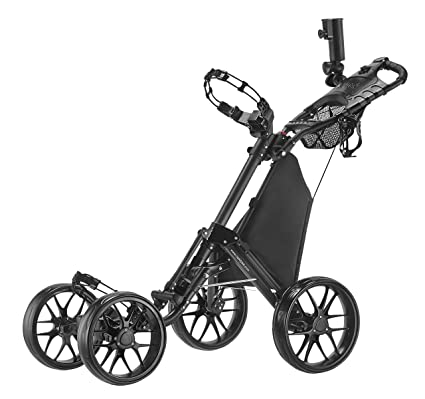 Amazon Com Caddytek One Click Folding 4 Wheel Version 3 Golf Push