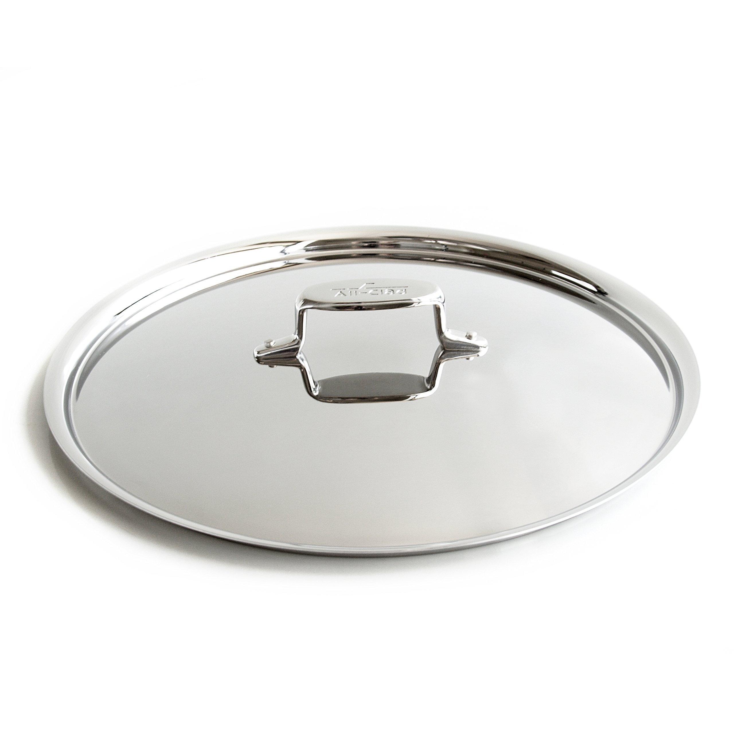 All-Clad D5 Brushed Stainless Steel Saute and French Skillet Lid, 13 Inch by All-Clad (Image #1)