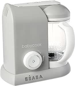 BEABA Babycook Solo Baby Food Blender, Grey
