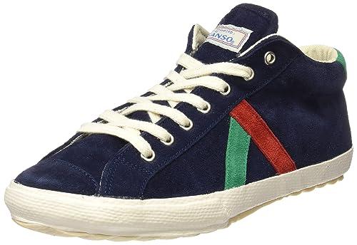 El Ganso M Berliner Midboot Suede, Zapatillas de Deporte Unisex Adulto, Azul (Dark Blue), 40 EU: Amazon.es: Zapatos y complementos