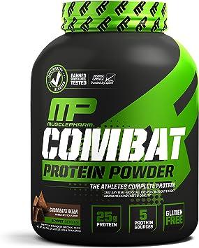 Muscle pharm combatir polvo Advanced Time Release proteínas ...