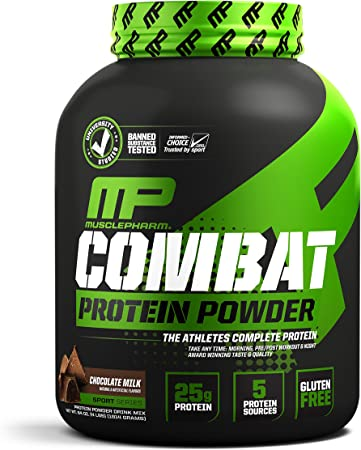 Muscle pharm combatir polvo Advanced Time Release proteínas