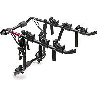 Vuelta Deluxe - Portabicicletas para 3 Bicicletas, Color Negro