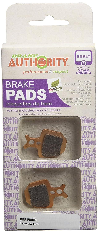 Brake Authority BA4041B Formula Oro - Par de plaquetas de freno