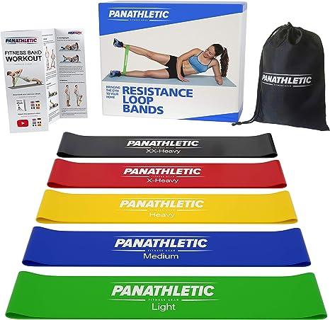 Amazon.com: Bandas de resistencia para hacer ejercicio ...