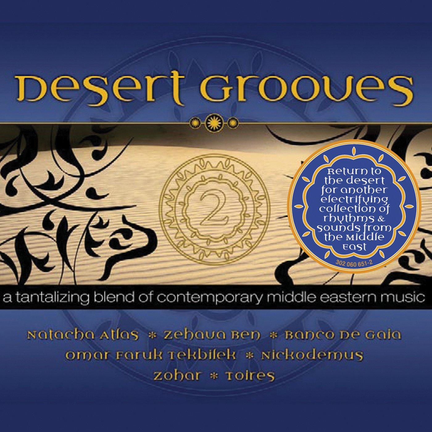 CD : Desert Grooves - Vol. 2-desert Grooves (Digipack Packaging)