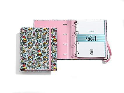 Jordi Labanda 20877 - Carpeta bloc notebook stickers (DIN A4, 210 x 297 mm