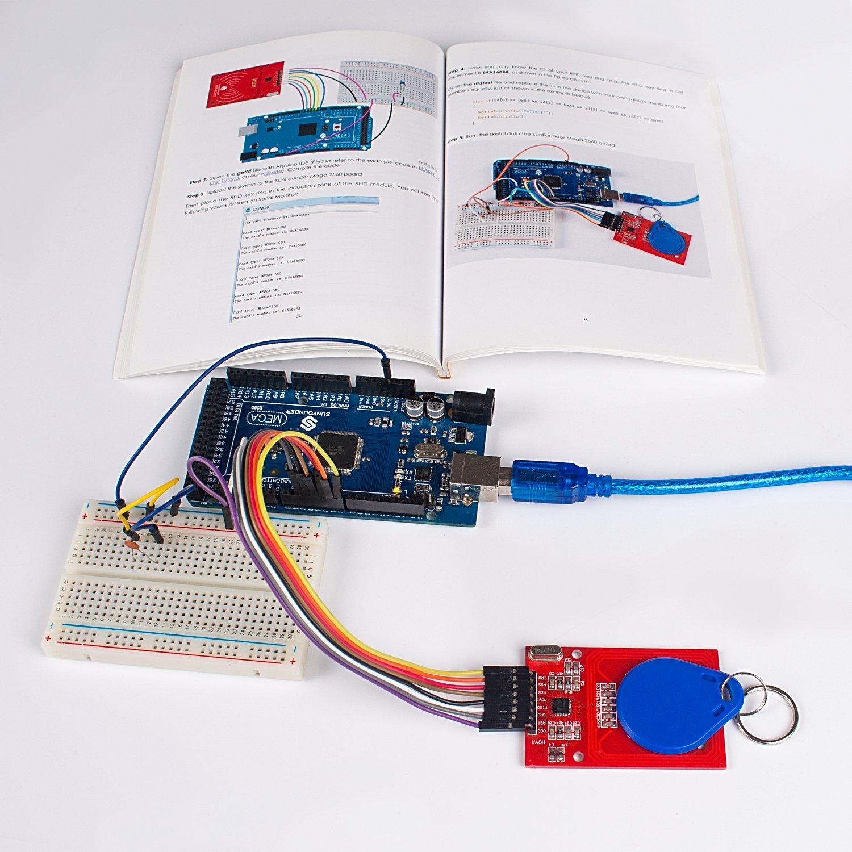 Buy Sunfounder Smart Home Iot Internet Of Things Starter Kit V20 Wiring For Arduino Diy Projects Sensor Modules Intelligent Living System W5100 Mega 2560 Nano