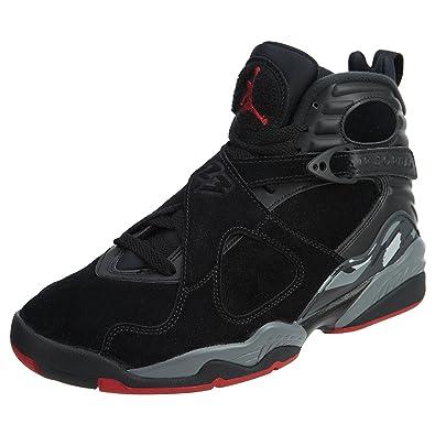 reputable site b86c0 0aed9 Jordan Mens Air 8 Retro Bred Sneaker Shoe