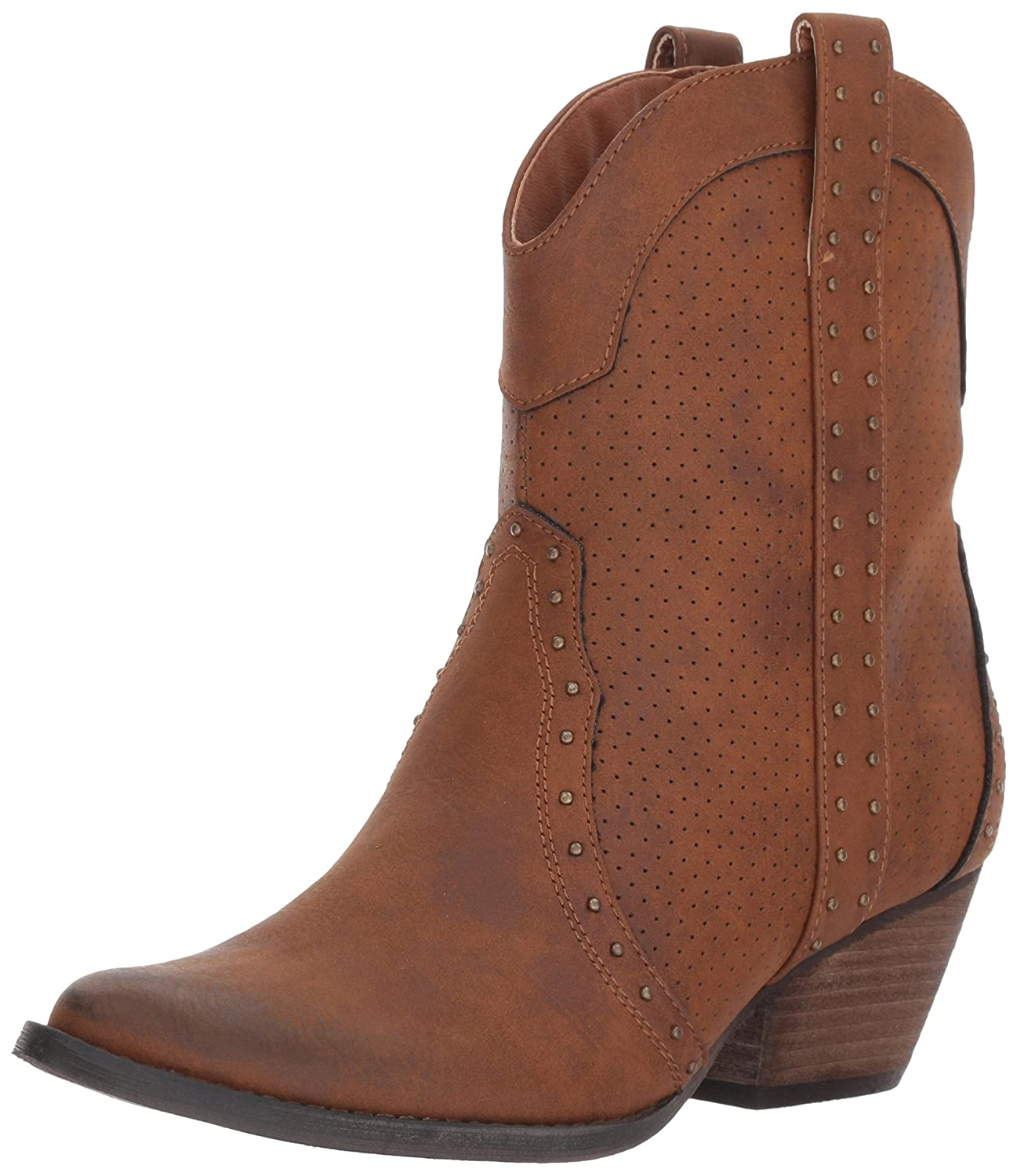 Very Volatile Women's Montez Western Boot B06XJ7P678 8.5 B(M) US|Tan