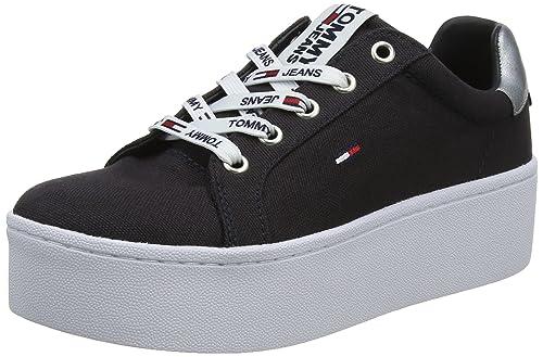 Tommy Jeans Flatform Sneaker, Zapatillas para Mujer: Amazon.es: Zapatos y complementos