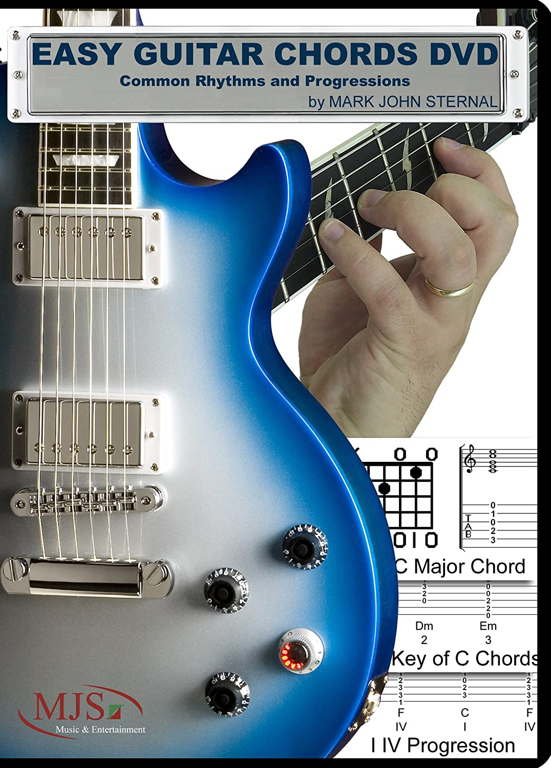 Amazon Easy Guitar Chords Dvd Common Rhythms And Progressions