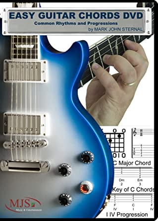 Amazon.com: Easy Guitar Chords DVD Common Rhythms and Progressions ...