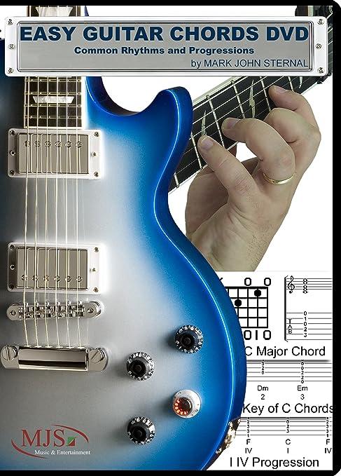 Amazon.com: Easy Guitar Chords DVD Common Rhythms and Progressions ...