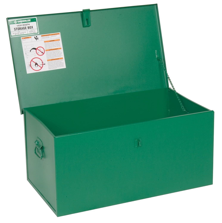 31-Inch By 15-Inch By 18-Inch Greenlee 1531 Welders Box