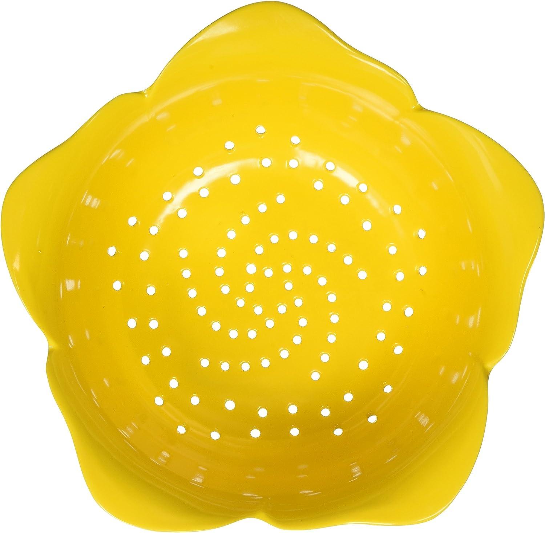 Zak Designs Garden Series 24 oz. Plastic Colanders, Yellow