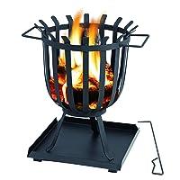 Brentwood Feuerkorb Tepro schwarz XXL ✔ rund