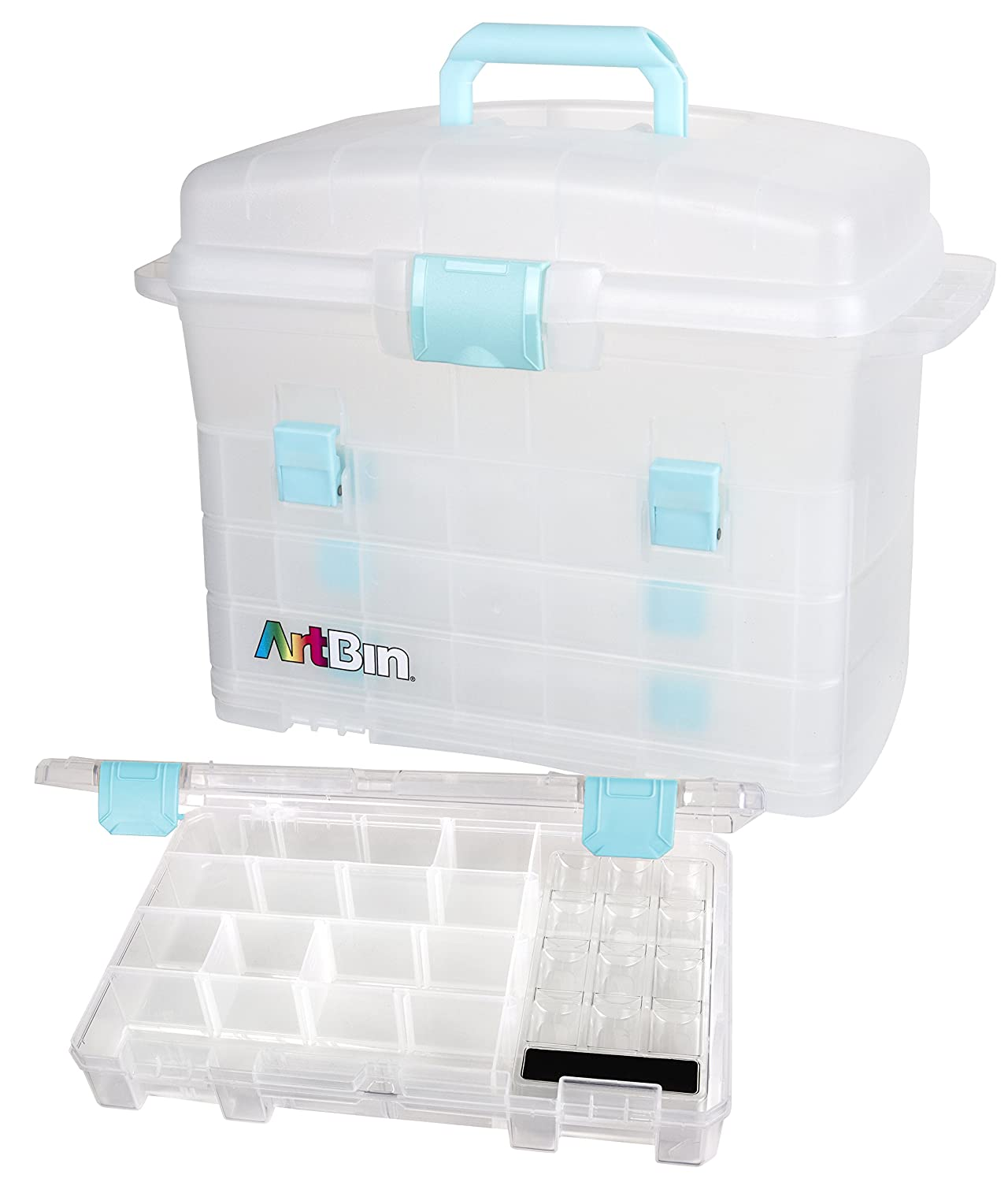 ArtBin Solutions Sewing Box Pack of 1 Clear 6935AE
