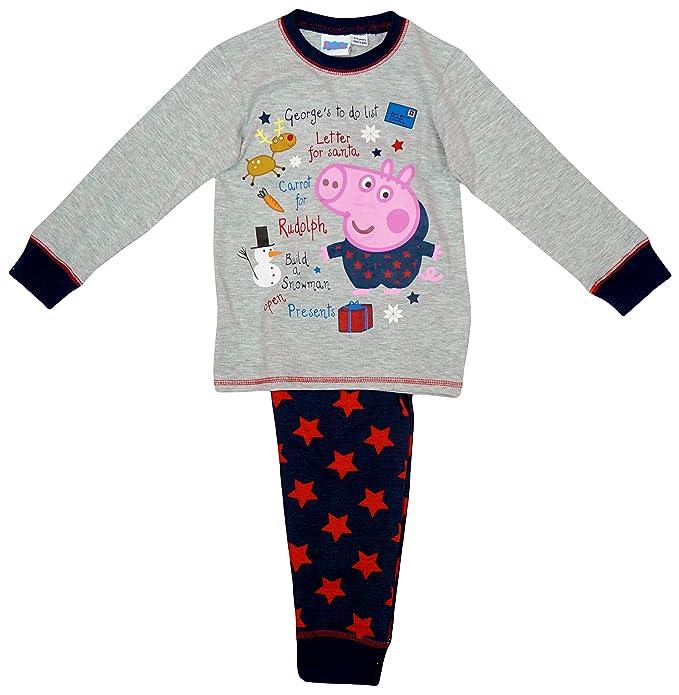 Niños Peppa Pig George Pig de Navidad carta a Papá Noel ...