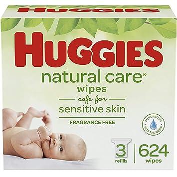 Amazon.com: HUGGIES - Toallitas para bebé sin aroma ...