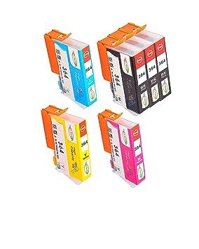 Win-TinTen Cartucho de tinta de repuesto para HP 364XL 364XL ...