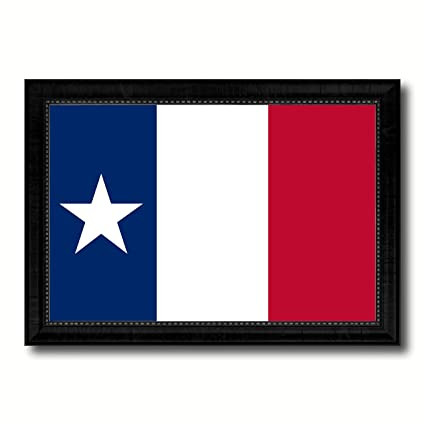 Amazon Com Texas Dodsons Historical Military Flag Canvas Print With