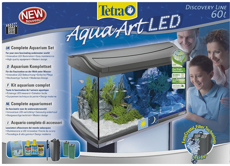 Unterschiedlich Tetra AquaArt Discovery Line LED Aquarium-Komplett-Set 60 Liter  OO42