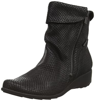 70ccf052499 Mephisto-Chaussure Bottine-SEDDY Noir cuir 7900-Femme  Amazon.fr ...