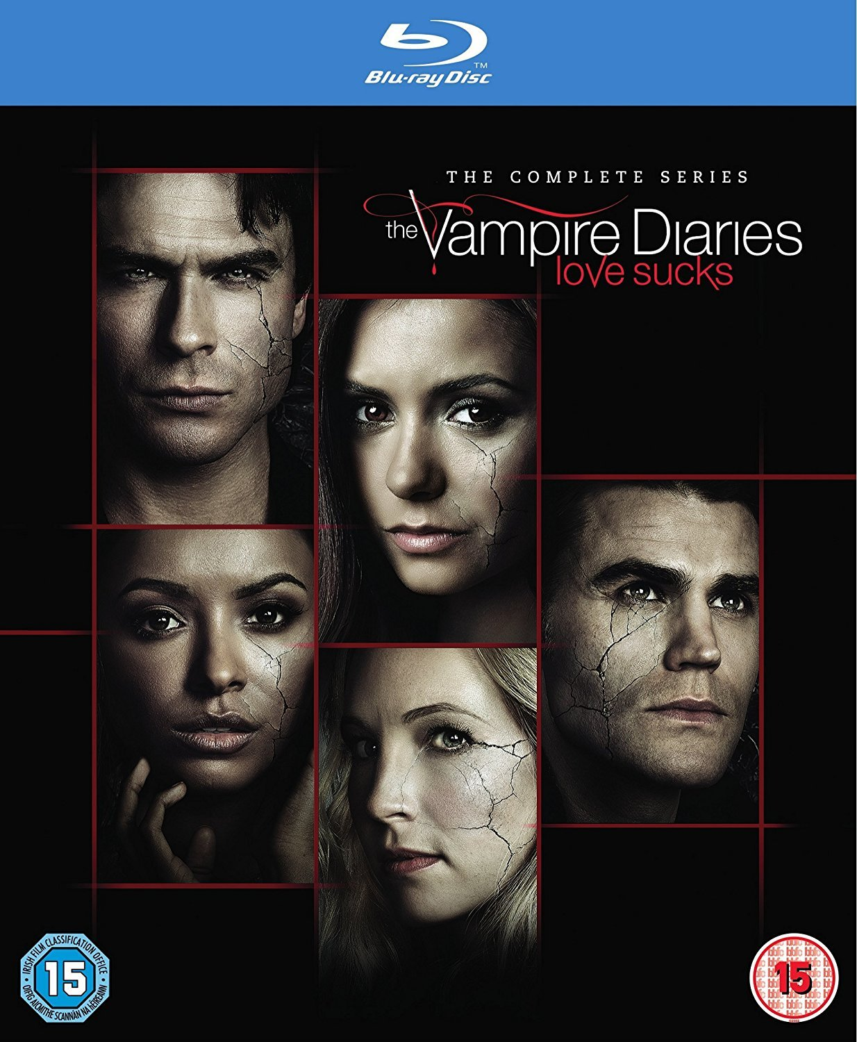 The Vampire Diaries: The Complete Series [Blu-ray] [2017] [Region Free]