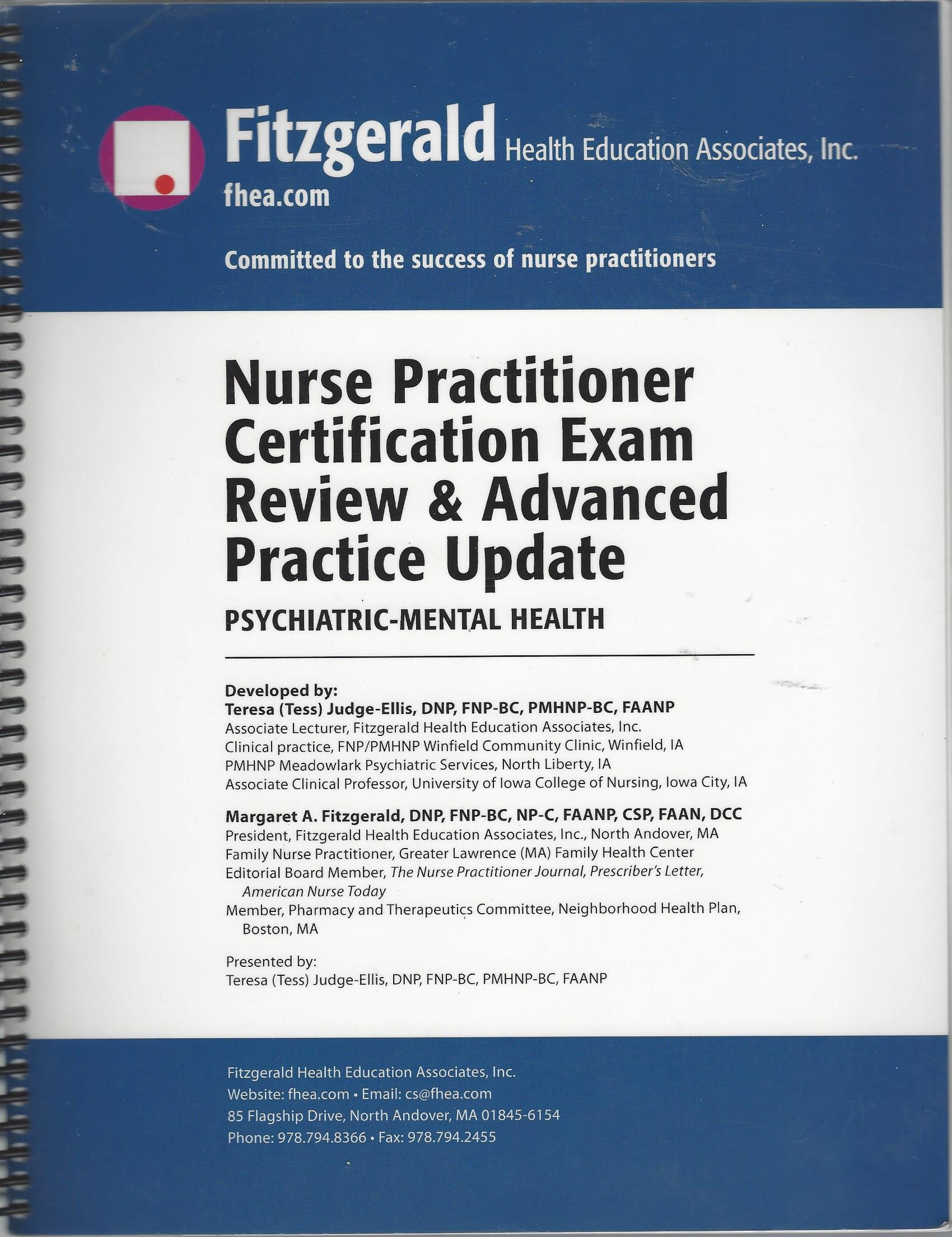 Nurse Practitioner Certification Exam Review Advanced Practice