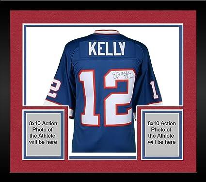 promo code 53e76 81a8b Framed Jim Kelly Buffalo Bills Autographed Mitchell & Ness ...
