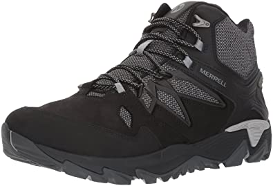 Merrell Men's All Out Blaze 2 Mid Waterproof Hiking Boot, Black, ...