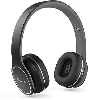 Auriculares Bluetooth, SoundPal SL50 Ultraligero inalámbrico Auriculares de Diadema