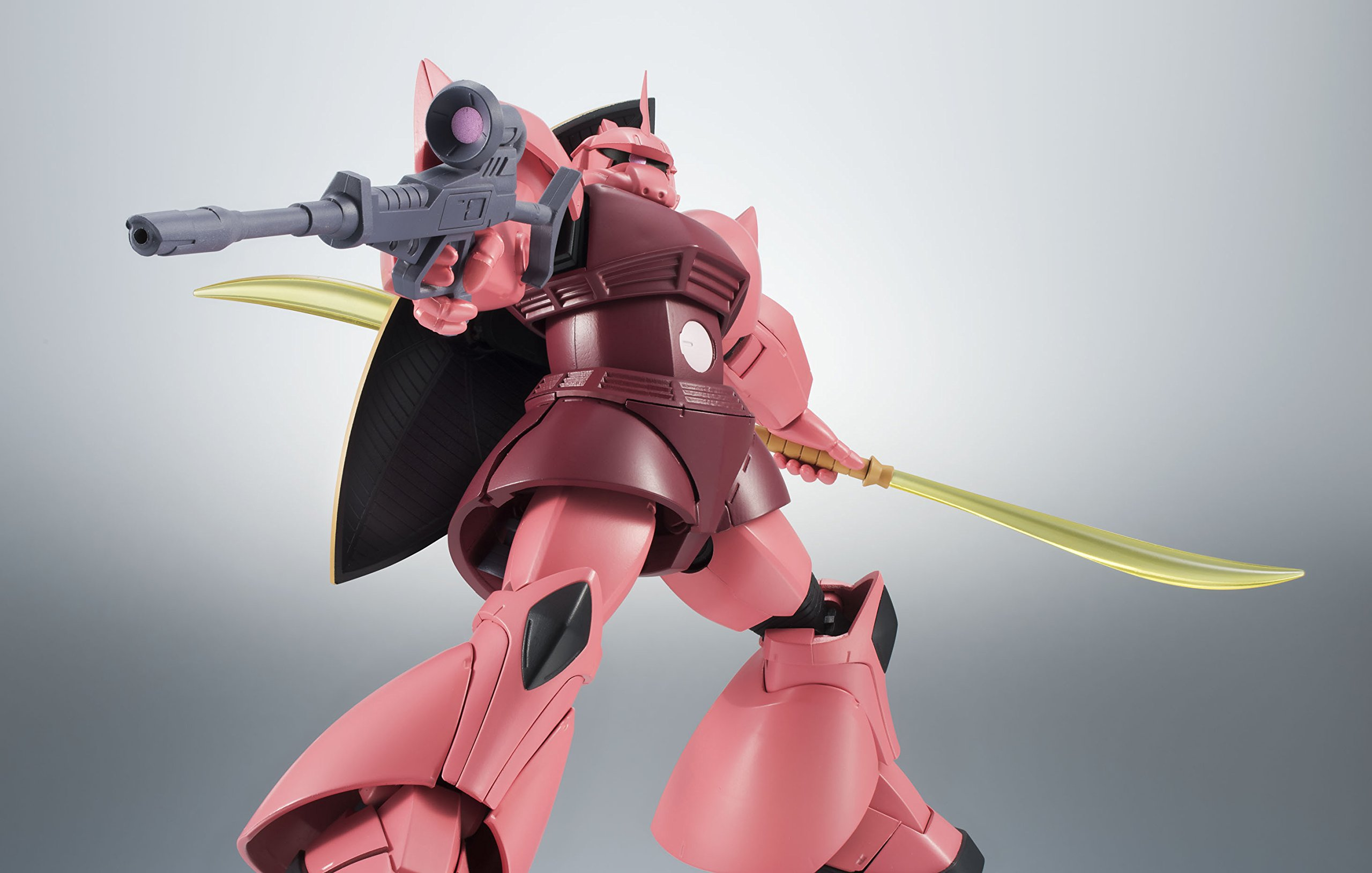 ROBOT魂 機動戦士ガンダム [SIDE MS] MS-14S シャア専用ゲルググ ver. A.N.I.M.E. 約130mm ABS&PVC製 塗装済み可動フィギュア