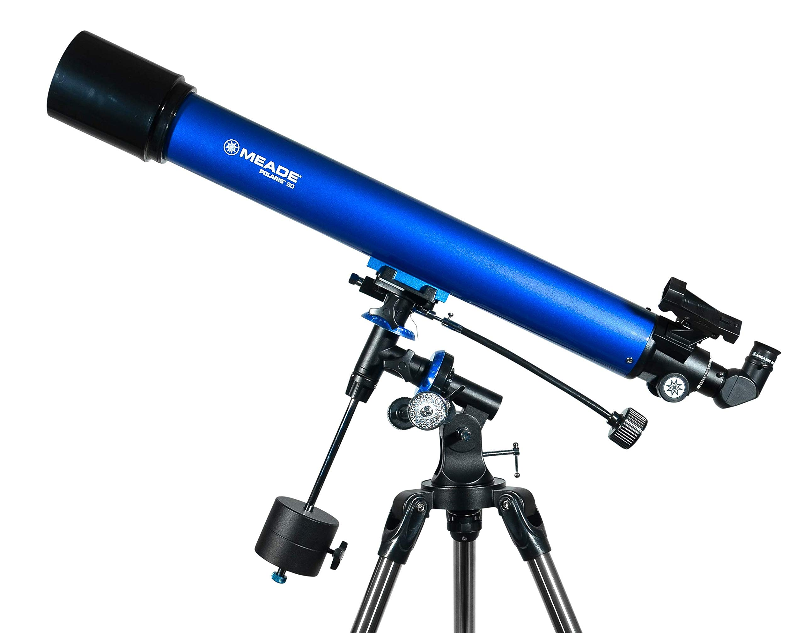 Meade Instruments 216003 Polaris 90 EQ Refractor Telescope (Blue) by Meade Instruments