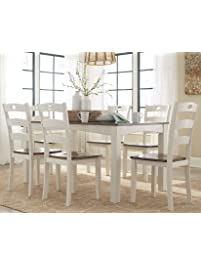 Attractive Ashley Furniture Signature Design   Woodanville Dining Room Table Set   Set  Of 7   Dining
