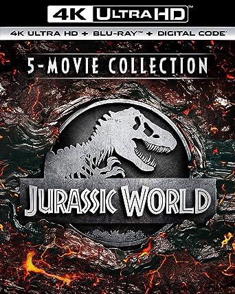 Amazon com: Jurassic World 5-Movie Collection [Blu-ray]: Sam