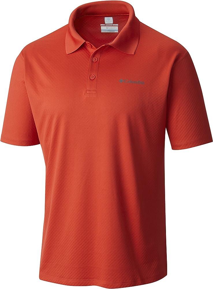 Columbia Rules, Camiseta Polo Para Hombre, Rojo (Super Sonic ...