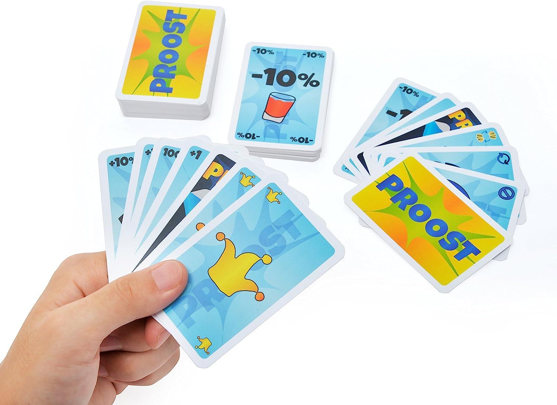 gioco da festa Inspiracles TANKEN das Trinkspiel Gioco di carte per adulti gioco divertente e gadget divertente regalo per uomini e donne